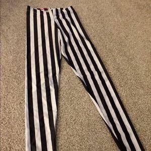 Blackmilk Pants - BLACKMILK Beetlejuice leggings